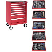 Machine Mart Xtra Britool E220328B 285 Piece Tool Kit and Tool Chest - Red