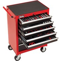 Clarke Pro Clarke PRO396 222 Piece Tool Set With 7 Drawer Tool Cabinet