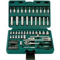 Machine Mart Xtra Kamasa 56017 58 Piece 1/4 Drive Socket Set