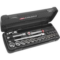 Machine Mart Xtra Facom SJ.430A 21 Piece 3/8 Socket Set