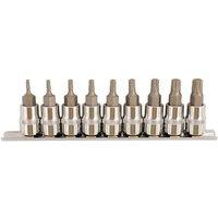 Laser Laser 5213 - 9 Piece 3/8 Drive Torx Plus Bit Set