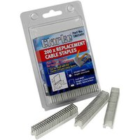 Clarke 4 - 6mm Cable Staples Pk200