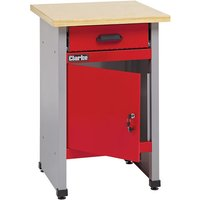 Clarke Clarke CWB57 570mm Workbench With Drawer And Lockable Cupboard