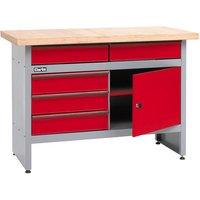 Clarke Clarke CWB1205P 5 Drawer Workbench