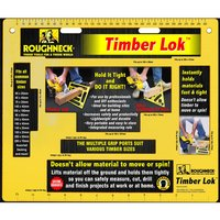 Roughneck Roughneck Timber Lok Plate Vice