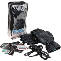 Machine Mart Xtra Oxford Heated Motorcycle Gloves (M)
