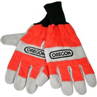 Oregon Oregon Chainsaw Gloves With Left Hand Protection Size 9 (Medium)