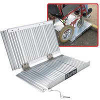 "Clarke Clarke AR4 - 48"" Folding Aluminium Access Ramp"