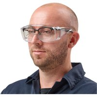 Click to view product details and reviews for Clarke Clarke Sog1 Clear Safety Over Glasses.