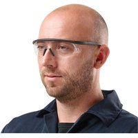 Click to view product details and reviews for Clarke Clarke Scs1 Clear Safety Glasses With Adjustable Arms.