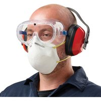 Click to view product details and reviews for Clarke Clarke Spk1 Safety Pack Clear Goggles Ear Defenders Mask.