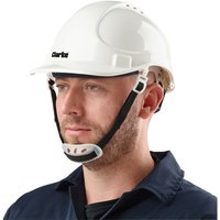 Click to view product details and reviews for Clarke Clarke Shw1 Safety Helmet White.