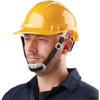 Click to view product details and reviews for Clarke Clarke Shy1 Safety Helmet Yellow.