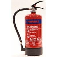 Walker Fire Walker Fire 6Kg ABC Powder Multi-Purpose Extinguisher