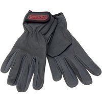 Click to view product details and reviews for Machine Mart Xtra Oregon Black Leather Work Gloves.