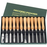Record Power Record Power RPCV12A 12 Piece Carving Chisel Set
