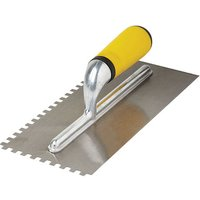 Machine Mart Soft Grip Adhesive Trowel 280mm