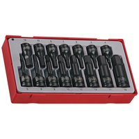 "Teng Teng TT9015HX 15 Piece 3/8"" & 1/2"" Hex Impact Socket Set"