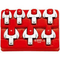 Machine Mart Xtra Facom S.300-12 Metric Open End Spanner Set - 14x18mm Fitting