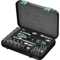 Machine Mart Xtra Wera 8100Sa2 Socket Set 1/4 Drive Metric Zyklop 42 Pieces