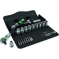 Machine Mart Xtra Wera Zyklop 8100 Sc9 Ratchet And Socket Set, 1/2 Drive 28 Pieces