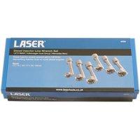 VAG  Volkswagen  Audi  Laser 4920 1 2  Drive Diesel Injector Line Socket Wrench Set