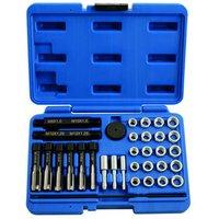 Laser Laser 5206   31 Piece Alloy Glow Plug Thread Repair Kit