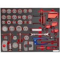 Sealey Sealey TBTP10 42 Piece Brake Service Tool Set in Tool Tray