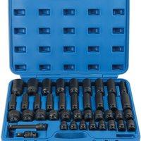 Laser Laser 6429 40 Piece 1 2   Drive Metric Impact Socket Set