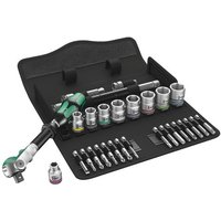 "Wera Wera 8100 SB6 3/8"" Drive 29 Piece Zyklop Speed Ratchet Set"