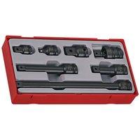 Teng Teng TT9207 7 Piece 1/2 Drive Impact Accessory Socket Set