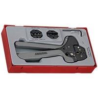 Teng Teng TTCP04 4 Piece Ratcheting Crimping Tool Set