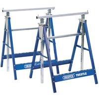 New Draper Telescopic Saw Horses/Builders Trestles (Pair)
