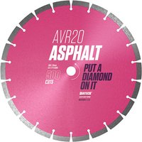 Diatech Diatech AVR20 300 20 Asphalt Diamond Blade