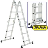 Clarke Clarke FPL3 10-in-1 Multi Function Aluminium Ladder