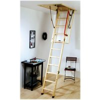 Machine Mart Xtra Youngman Eco S Line Timber Loft Ladder