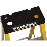 Youngman Youngman S400 6 Tread Glass Fibre Platform Ladder
