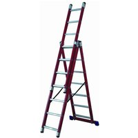 Lyte Ladders Lyte GFCL7 Glassfibre Combination Ladder
