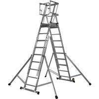 Price Cuts Youngman Teleguard Step 7-9 Tread Platform Ladder