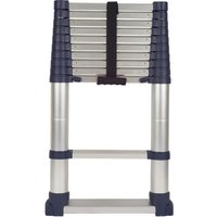 Machine Mart Xtend + Climb 3.2m ProSeries Telescopic Ladder with Stabilisers