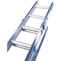 Machine Mart Xtra Lyte ELT245 2 Section Trade Extension Ladder 4.42m-7.81m