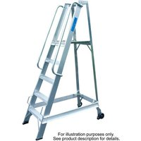 Lyte Ladders Lyte WS3 3 Rung Aluminium Warehouse Steps