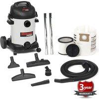 Shop Vac Shop Vac P11-SQ18 25l Pro Wet and Dry Vacuum Cleaner (230V)