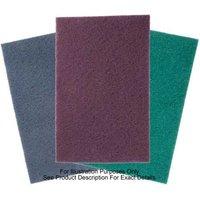National Abrasives Abrasive Pads - 254 x 117mm Black Hi-Strip 5 pack