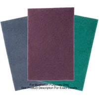 National Abrasives Abrasive Pads - 254 x 117mm Green Hi-Scrub 5 pack