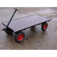 SCH Supplies SCH FBT2 Four Wheel Turntable Trolley