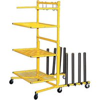 Machine Mart Xtra Power-Tec Parts Cart With Panel Train