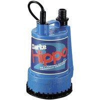 Clarke Clarke Hippo 2 1  250W 85Lpm  6m Head Submersible Water Pump  230V