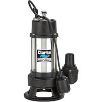 Clarke Clarke HSEC1400A - 1400W (1HP) Heavy Duty Submersible Cutter Pump