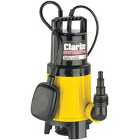 110 Volt Clarke CSV2A 1 Submersible Vortex Water Pump (110V)